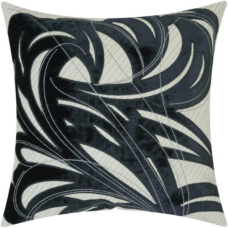 Tempest, #graphic #velvet #black #embroidery