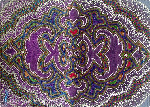 Декор предметов Мастер-класс Роспись МК ОБЛОЖКА ДЛЯ ПАСПОРТА ТУРЕЦКИЙ КОВЕР Кожа Краска фото 1