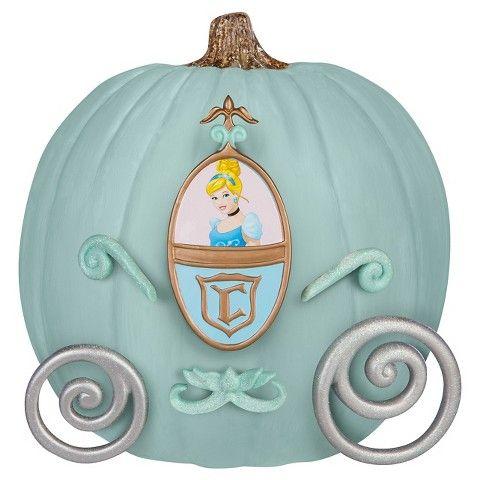 disney cinderella push in pumpkin decorating kit