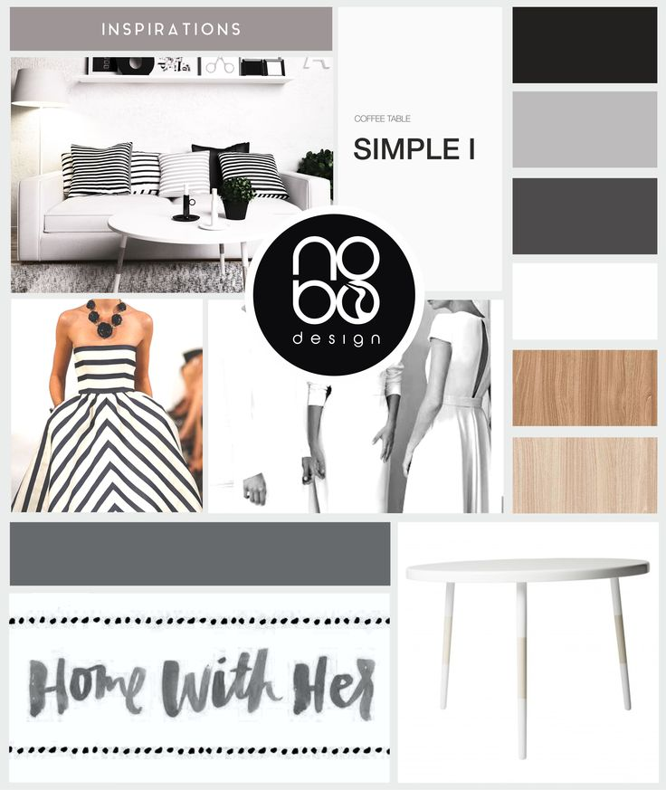 Inspiration with coffee table SIMPLE I