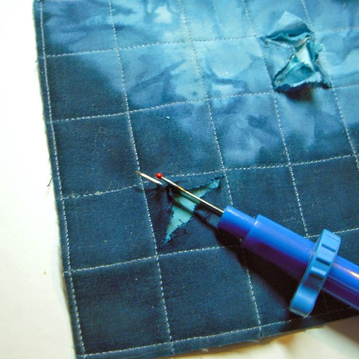 ...And Then We Set It On Fire: Creating Texture with Stitching and Fabric Manipulation - part 4