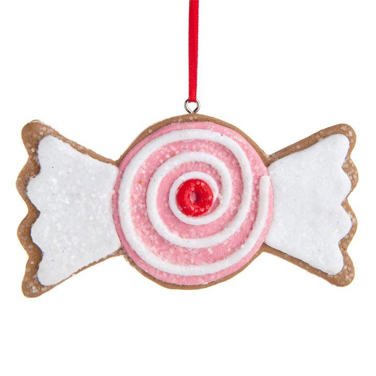 Déco bonbon Sweety pour sapin   - Vendu par 12