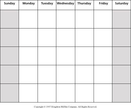 Best 20+ Blank calendar ideas on Pinterest