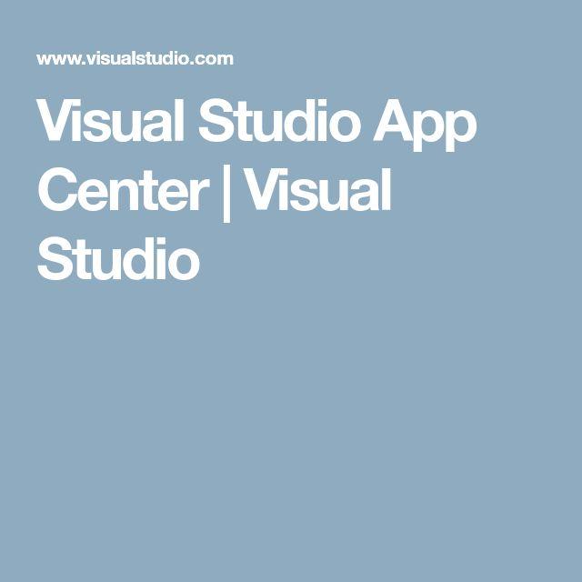 Visual Studio App Center | Visual Studio