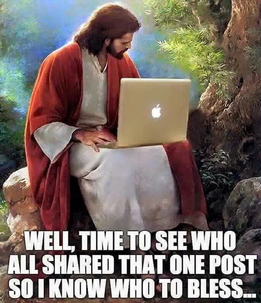 Jesus always watching and counting  #christianmemes #memes #christian #funny #church