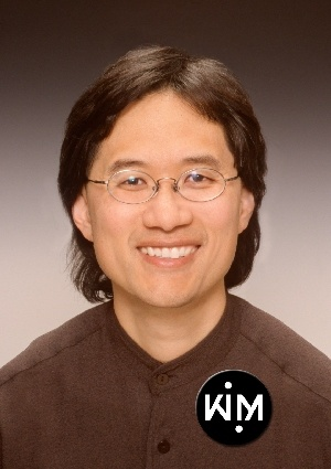 """SCOTT KIM - an American puzzle and computer game designer, artist, and author. He started writing an occasional """"Boggler"""" column for Discover magazine in 1990, and became an exclusive columnist in 1999, and created hundreds of other puzzles for magazines such as Scientific American and Games, as well as thousands of puzzles for computer games. He was the holder of the Harold Keables chair at Iolani School in 2008."""