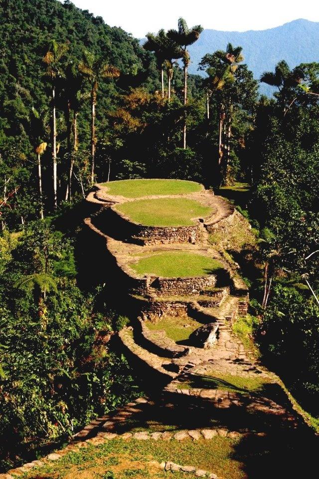 CIUDAD PERDIDA - toda una obra de la naturaleza y arte indígena #WTD2012