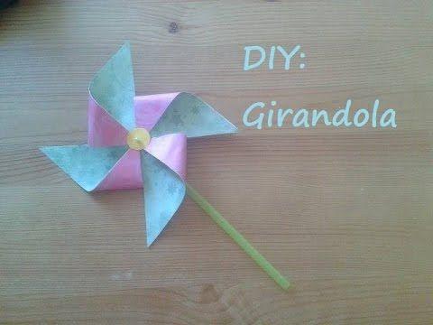Ecco come realizzare una semplice girandola di carta!
