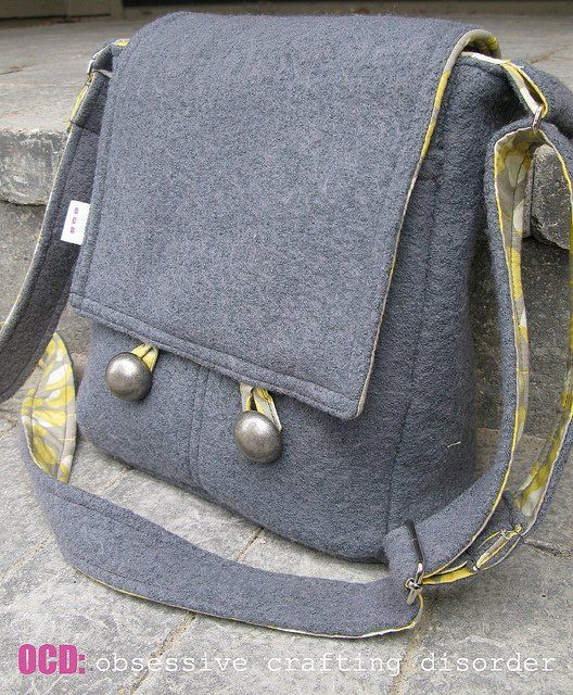 Here's a page with tutorials for making hundreds of different kinds of bags. They look like nice ones, too!
