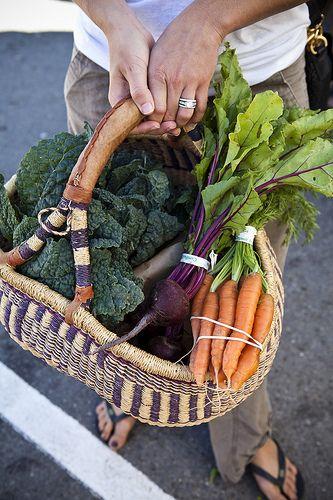 basket of fresh.: Fresh Veggies, Vegetables Gardens, Local Farmers, Marketing Baskets, Farmers Marketing, Fresh Produce, Franzen Photography, Nicole Franzen, San Francisco