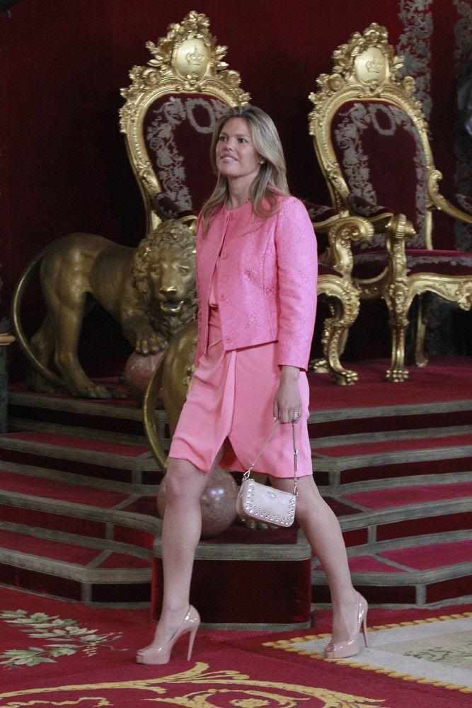 Cristina Valls Taberner recepcion Felipe VI Letizia