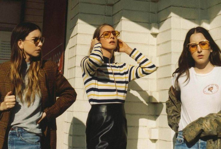 "The sisters of Haim are officially back with new song ""Right Now"" and have announced new album Something To Tell You. 