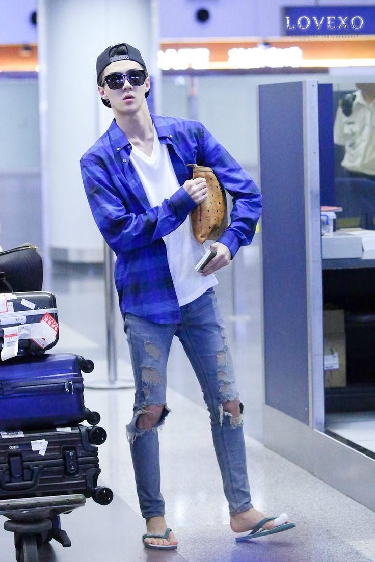 140910 EXO Sehun | Shanghai Airport to Incheon