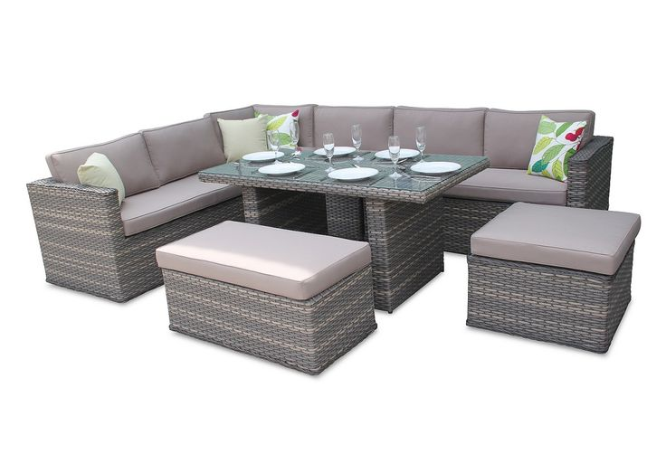 Brantwood Rattan Corner Sofa Dining Set - Superb value for money - and the service from Featuredeco was good too.