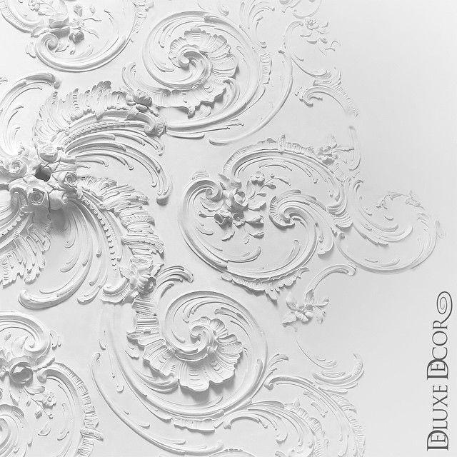 Чудесная лепная потолочная розетка в стиле #барокко, фрагмент. Wonderful stucco ceiling rosette #baroque, fragment of Rz048 d2600mm #дизайн #классическийинтерьер #лепнина #декор #дизайнинтерьера #красивыеинтерьеры #лепнинаизгипса #design #архитектура #architecture #deluxedecor #project #details #stucco #ceiling #luxuryhome #luxurydesign #luxury