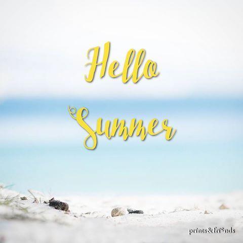 ¡Bienvenido #verano! ☀⛱️¡Te estábamos esperando!  ·  #estiu #2017 #junio #juny #sol #summer #sun #playa #platja #beach #welovesummer #bienvenidoverano #caloret #regalos #regals #fotografia #fotos #recuerdos #ideas #aloha #frases #helado #gelat #icecream  #barcelona #printsandfriends