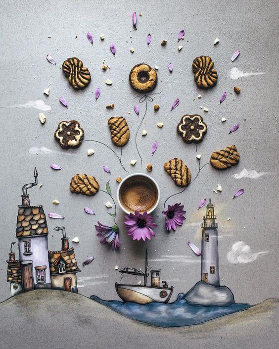 Coffee Art - D. Bolognesi via FB