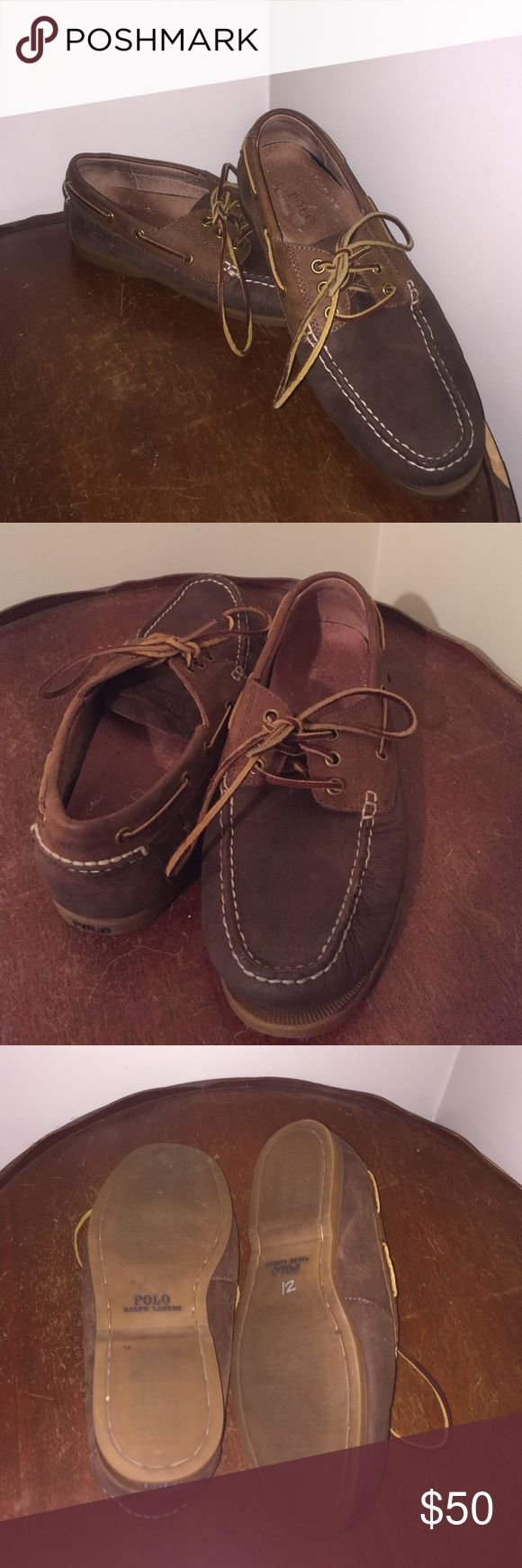 Polo Ralph Lauren boat shoes all leather Polo Ralph Lauren boat shoes all leather. Size 9 D. Like new Polo by Ralph Lauren Shoes Boat Shoes