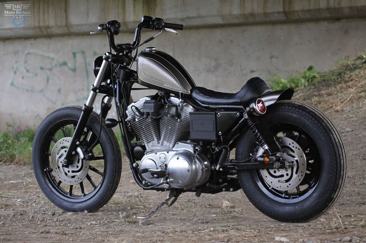 Feature Of The Day A Custom Sportster Aka Sp 40 Built By