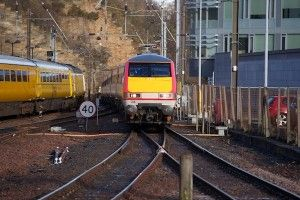 Latest news Police called to reports of naked man spotted on rail tracks at Waverley Station