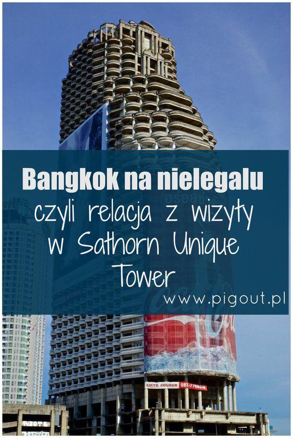 Prawdopodobnie w każdym większym mieście da się znaleźć budynki widma, całkowicie odstające od reszty krajobrazu, których jedyną funkcją jest straszenie przechodniów. W Warszawie są, co najmniej dwie takie porzucone inwestycje. Jedna na Sadybie i druga na BielanachOsobiście znam jeszcze jedną konstrukcję z tej kategorii. Nazywa się Sathorn Unique Bulding i stoi w Bangkoku. Miejscowi nazywają ją Ghost Tower.