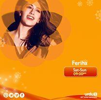 What is Ferihas best feature? 1) Eyes 2) Hair 3) Smile