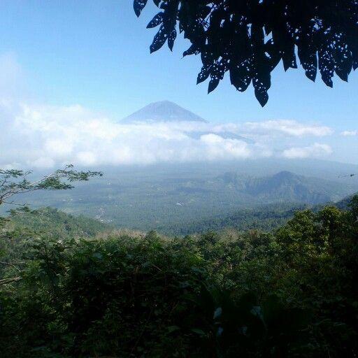Agung mountain