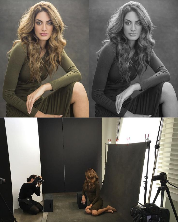 Natural hair light onto a dark background. Shoot low into the window. Creates beautiful tones