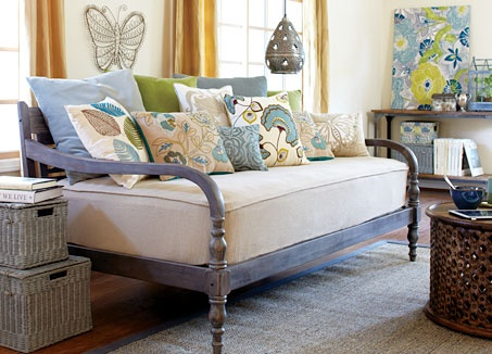 World Market daybed for one of the spare bedrooms.
