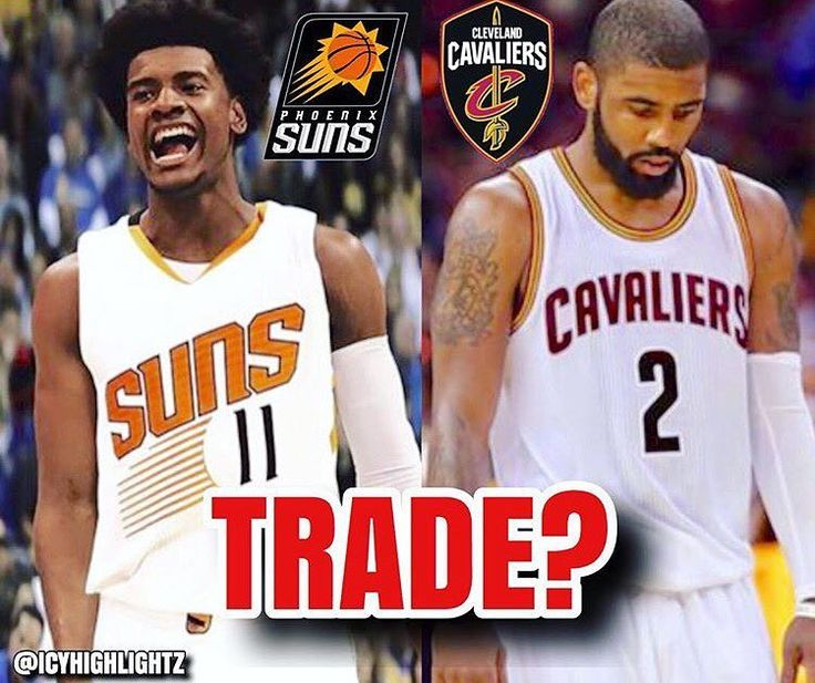 REPORT: The Phoenix Suns will NOT include Josh Jackson in any trades for Kyrie Irving, via multiple reports. It is also reported that the Miami Heat are the least likely to acquire Kyrie via trade, via Bleacher Report & The Miami Herald. 👀🔥 📷: @icyhighlightz