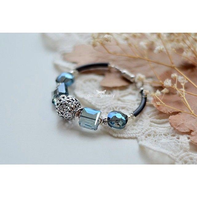 #браслет #браслеты #хрусталь #посеребрение #бусины #украшения #хендмейд #handmade #bracelet #bracelets #jewelry #silverplated #fashion #Padgram