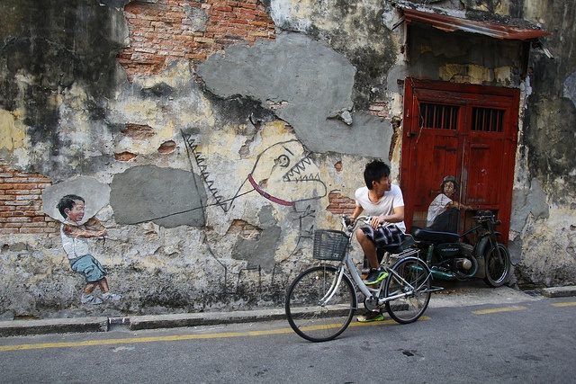 Cycling in georgetown by nickchan cycling georgetown for Mural 1 malaysia