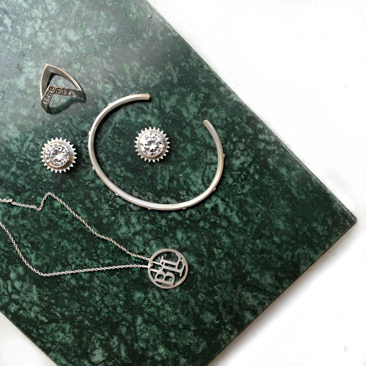 Silver jewelry on a rainy day >> http://www.janekoenig.com/