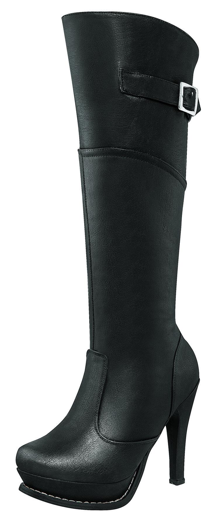Botas para dama negras #tendencias #dama #moda #invierno