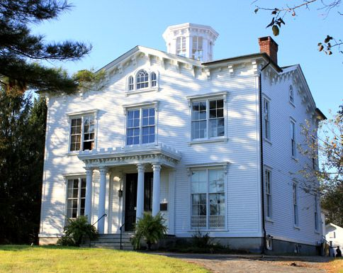 Stonington, CT - In 1820, Captain Palmer sighted uncharted land that later became known as Antarctica. Three decades later, he built this Victorian mansion, now The Captain Nathaniel B. Palmer House, a National Historic Landmark. Admission includes the nearby Old Lighthouse Museum.
