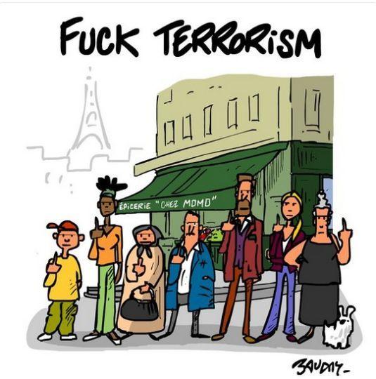 Ils étaient nombreux à prendre leur crayon aux attentats contre Charlie Hebdo. Ils sont encore nombreux, depuis vendredi soir, à réagir aux terribles attentats qui ont une nouvelle fois touché la capitale. Pour réagir sur l'indicible, de nombreux dessinateurs, célèbres ou plus anonymes, ont en effet publié des dessins sur les réseaux sociaux. Pour l'heure, celui qui a rencontré le plus de succès est celui de Jean Jullien, un artiste français installé à Londres qui a souhaité intégrer la…