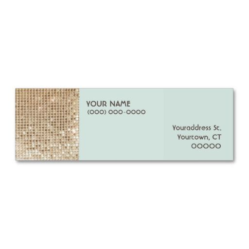 156 best babysitting business cards images on pinterest business gold sequins mini business card fbccfo Image collections