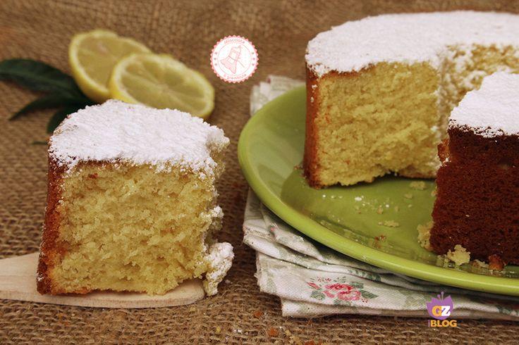 Il ciambellone al limone solo albumi senza burro soffice e profumatissimo. Semplice da preparare e golosissimo perfetto per colazione o per l'ora del tè.