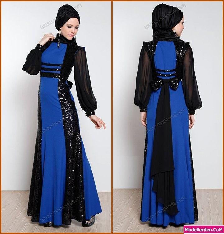 Pullu payetli tesettür abiye elbise #tesettür #abiye #elbise #modelleri #pullu #payetli #lacivert www.abiyeelbisemodelleri.com