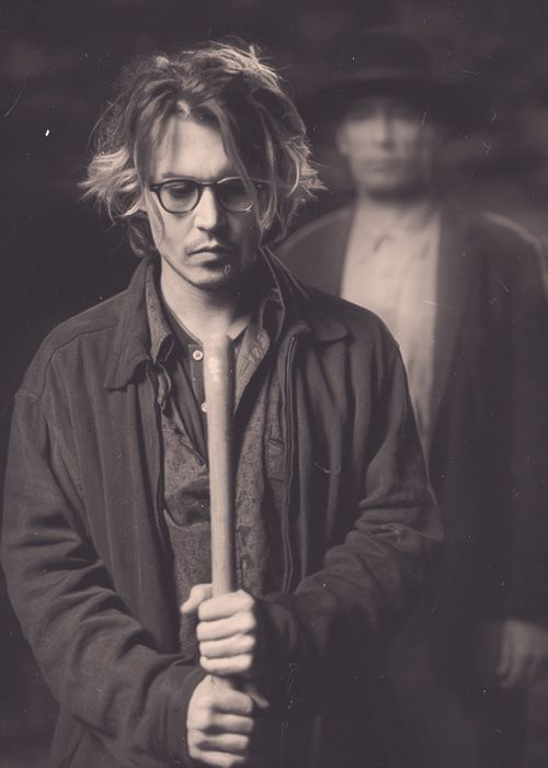 Johnny Depp in Secret Window.  I loved this movie...