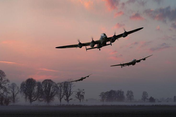 Dambusters departing