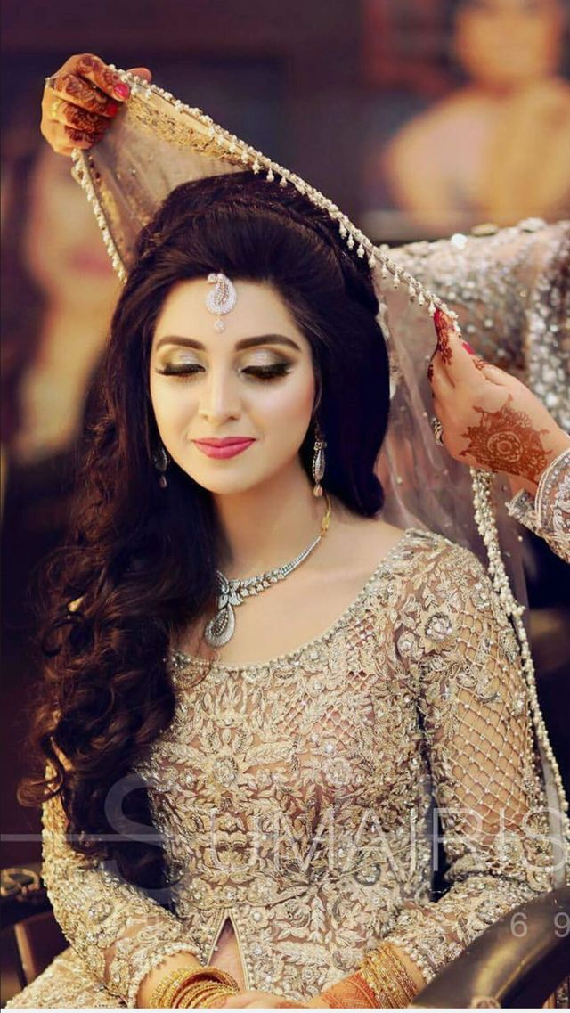 Pin By Vee On Bridal Dresses Pakistani Bridal Makeup Pakistani