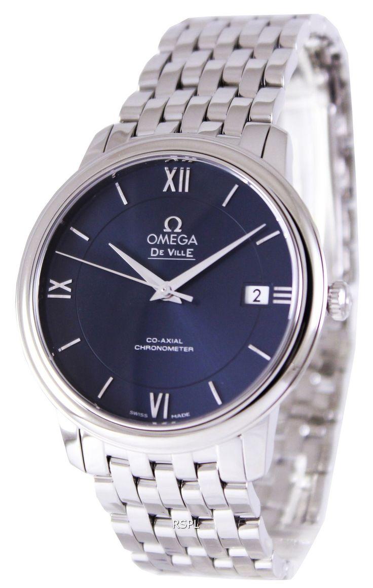 Omega De Ville Prestige Co-Axial Chronometer 424.10.37.20.03.001 montre homme