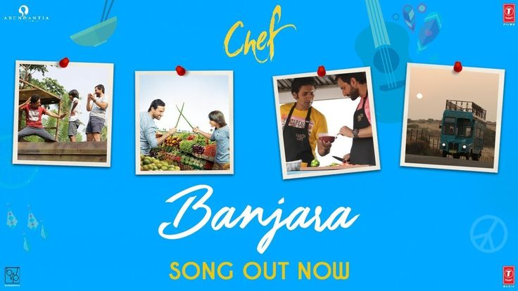 """Chef: Banjara Video Song   Saif Ali Khan   Vishal Dadlani   Raghu Dixit - Download This Video   Great Video. Watch Till the End. Don't Forget To Like & Share Gulshan Kumar in association with Abundantia A Bandra West Pictures Production presents the video song """" Banjara"""" composed by Raghu Dixit written by Ankur Tewari and sung by Vishal Dadlani from the upcoming Bollywood movie """"Chef""""The film is directed By Raja Krishna Menon Produced By Bhushan Kumar Krishan Kumar Vikram Malhotra Janani…"""