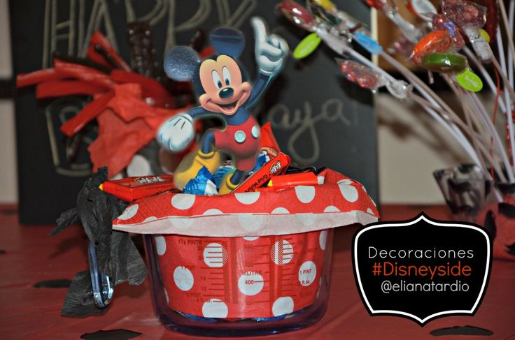 Porta-dulces Mickey Mouse