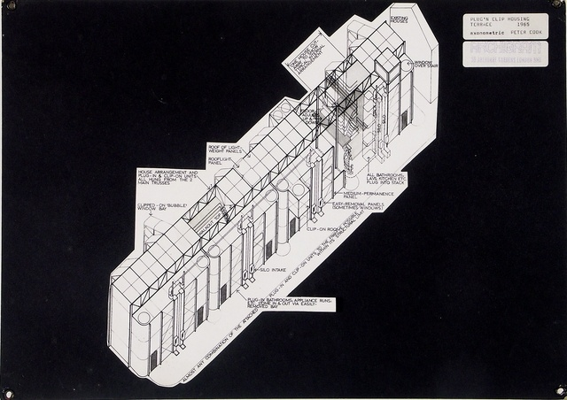 Plug 'n' Clip House Project - Archigram Archival Project