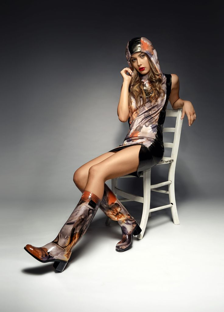 Wellington boots by Chiara Bellini