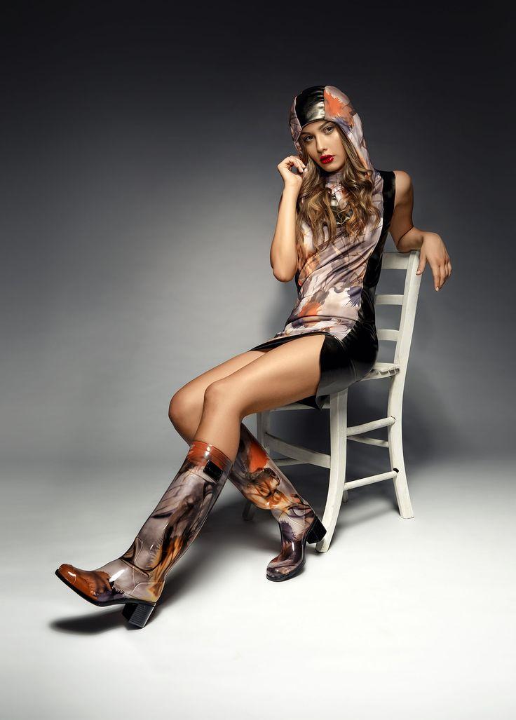 Wellington boots by Chiara Bellini