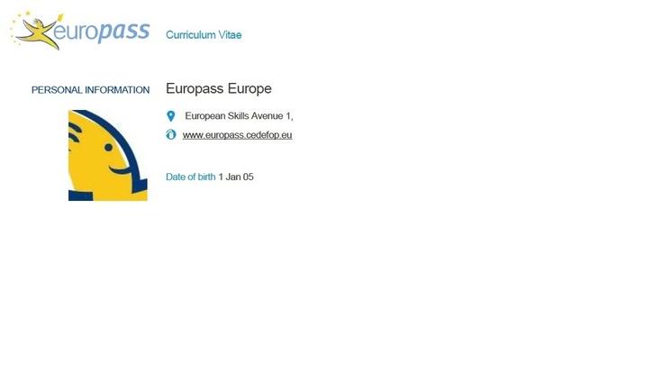 91 best europass images on pinterest