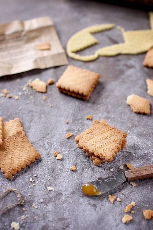 Biscuits sablés à la fleur de sel